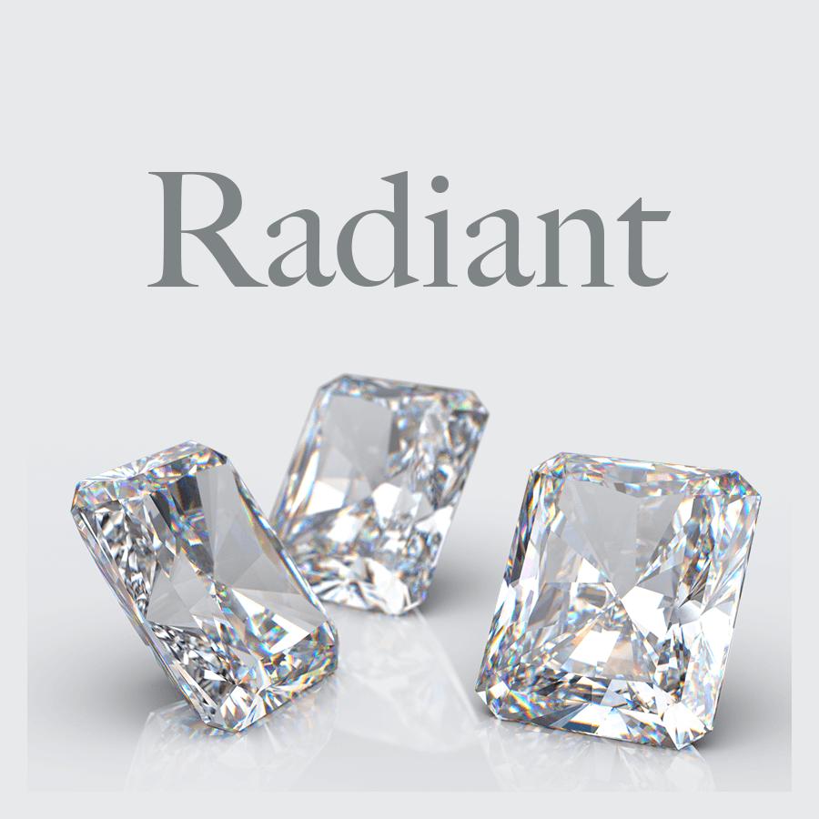 Lab Grown Radiant Shape Diamonds from Australian Diamond Network