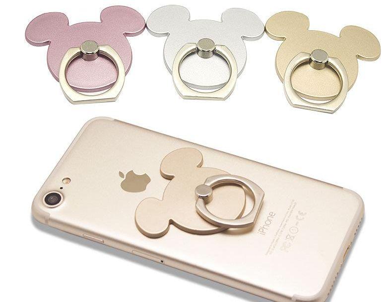 Finger ring phone holder