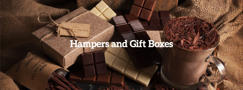 Chocolate Hampes and Gift Boxes