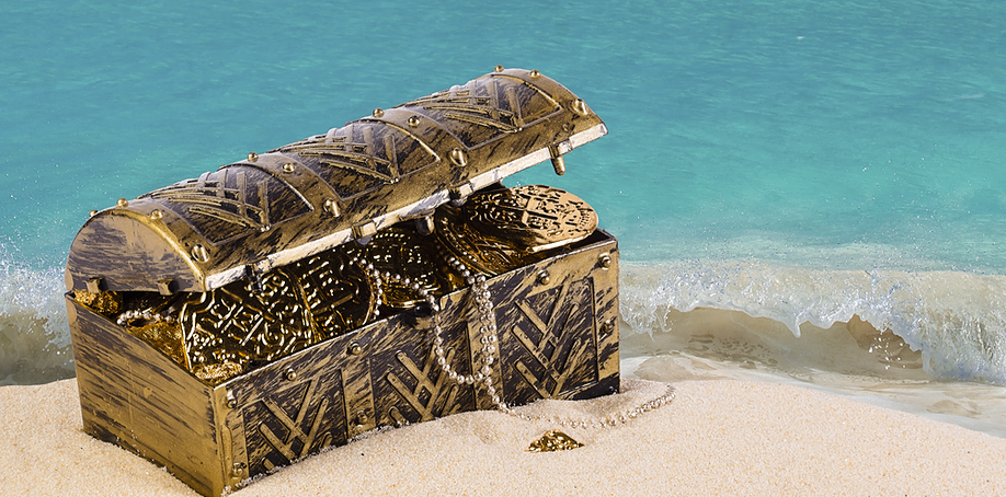 Treasure Chest for loyalty rewards program