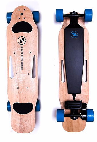 ZBoard Blue Electric Skateboard